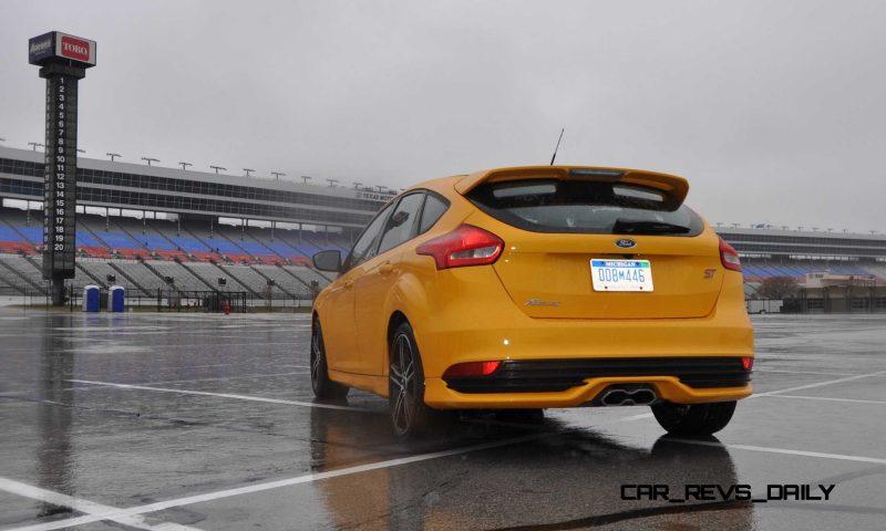 2015 Ford Focus ST Tangerine Scream ST2 Pack 121