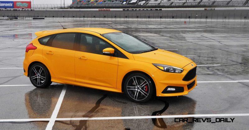 2015 Ford Focus ST Tangerine Scream ST2 Pack 136