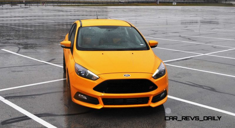 2015 Ford Focus ST Tangerine Scream ST2 Pack 142