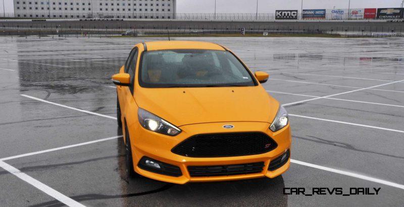 2015 Ford Focus ST Tangerine Scream ST2 Pack 153