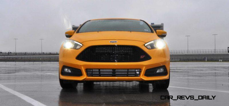 2015 Ford Focus ST Tangerine Scream ST2 Pack 158