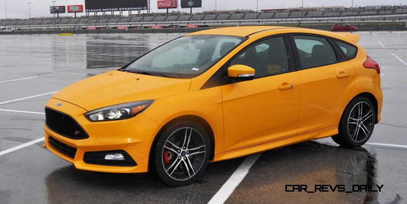 2015 Ford Focus ST Tangerine Scream ST2 Pack 164