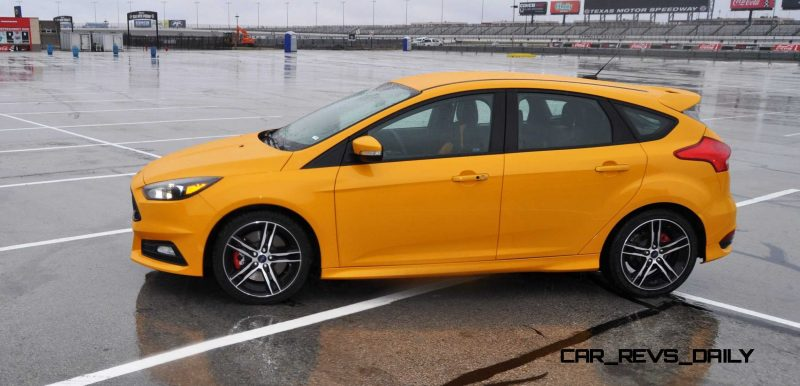 2015 Ford Focus ST Tangerine Scream ST2 Pack 165