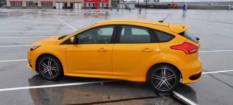 2015 Ford Focus ST Tangerine Scream ST2 Pack 167