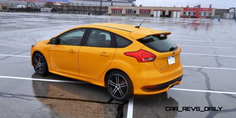 2015 Ford Focus ST Tangerine Scream ST2 Pack 168