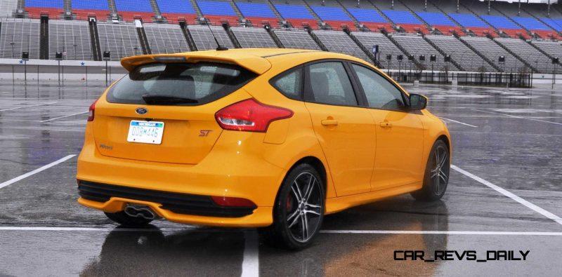 2015 Ford Focus ST Tangerine Scream ST2 Pack 176