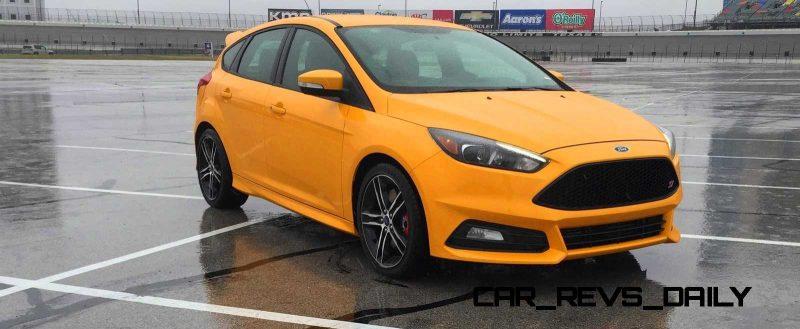 2015 Ford Focus ST Tangerine Scream ST2 Pack 19