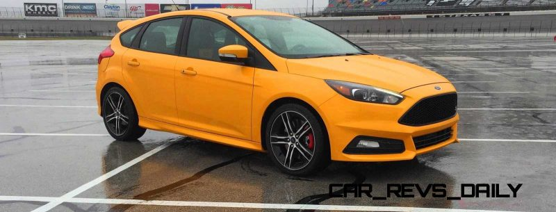 2015 Ford Focus ST Tangerine Scream ST2 Pack 23