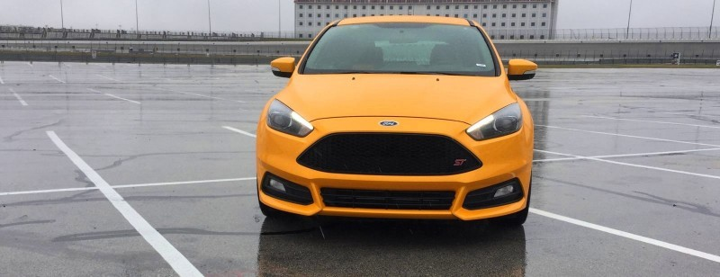 2015 Ford Focus ST Tangerine Scream ST2 Pack 5