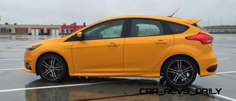 2015 Ford Focus ST Tangerine Scream ST2 Pack 51