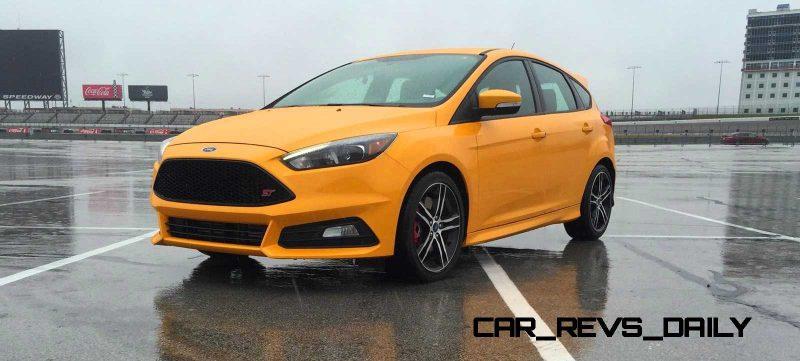 2015 Ford Focus ST Tangerine Scream ST2 Pack 60