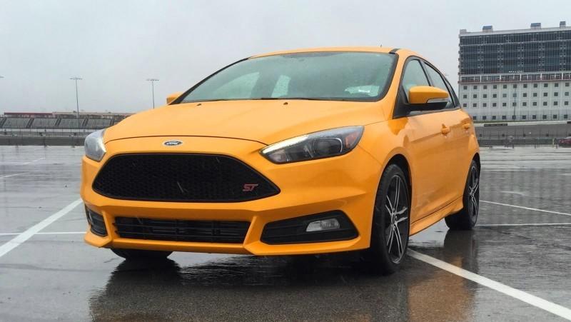 2015 Ford Focus ST Tangerine Scream ST2 Pack 66