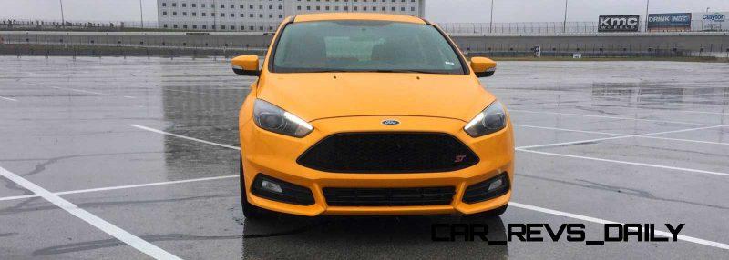 2015 Ford Focus ST Tangerine Scream ST2 Pack 7