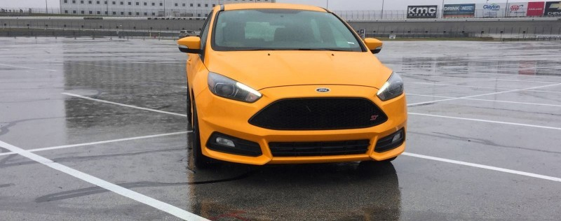 2015 Ford Focus ST Tangerine Scream ST2 Pack 9
