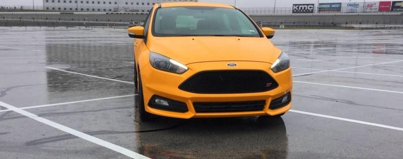 2015 Ford Focus ST Tangerine Scream ST2 Pack 9