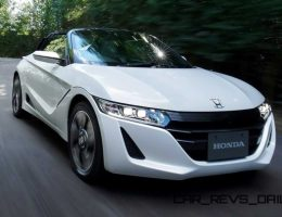 2015 Honda S660 Is JDM Mid-Engine Targa With Turbo Triple Engine + 6-Speed Manual