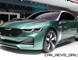 2015 Kia Novo Concept Is Surprise 4-Door Coupe for Seoul Motor Show