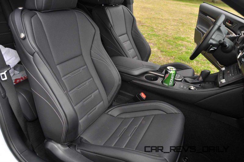 2015 Lexus RC350 F Sport Interior 3