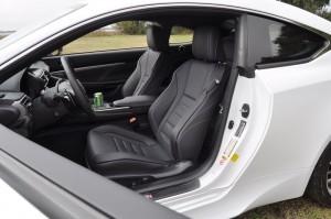 2015 Lexus RC350 F Sport Interior 9