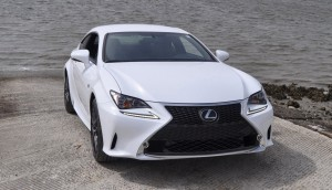 2015 Lexus RC350 F Sport Ultra White 1
