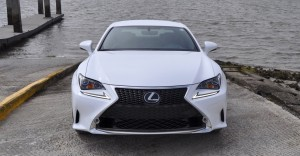 2015 Lexus RC350 F Sport Ultra White 3