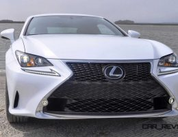 HD Road Test Review – 2015 Lexus RC350 F Sport – Ultra White in 2 Videos + 200 Photos!