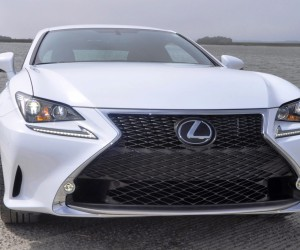 2015 Lexus RC350 F Sport Ultra White 34