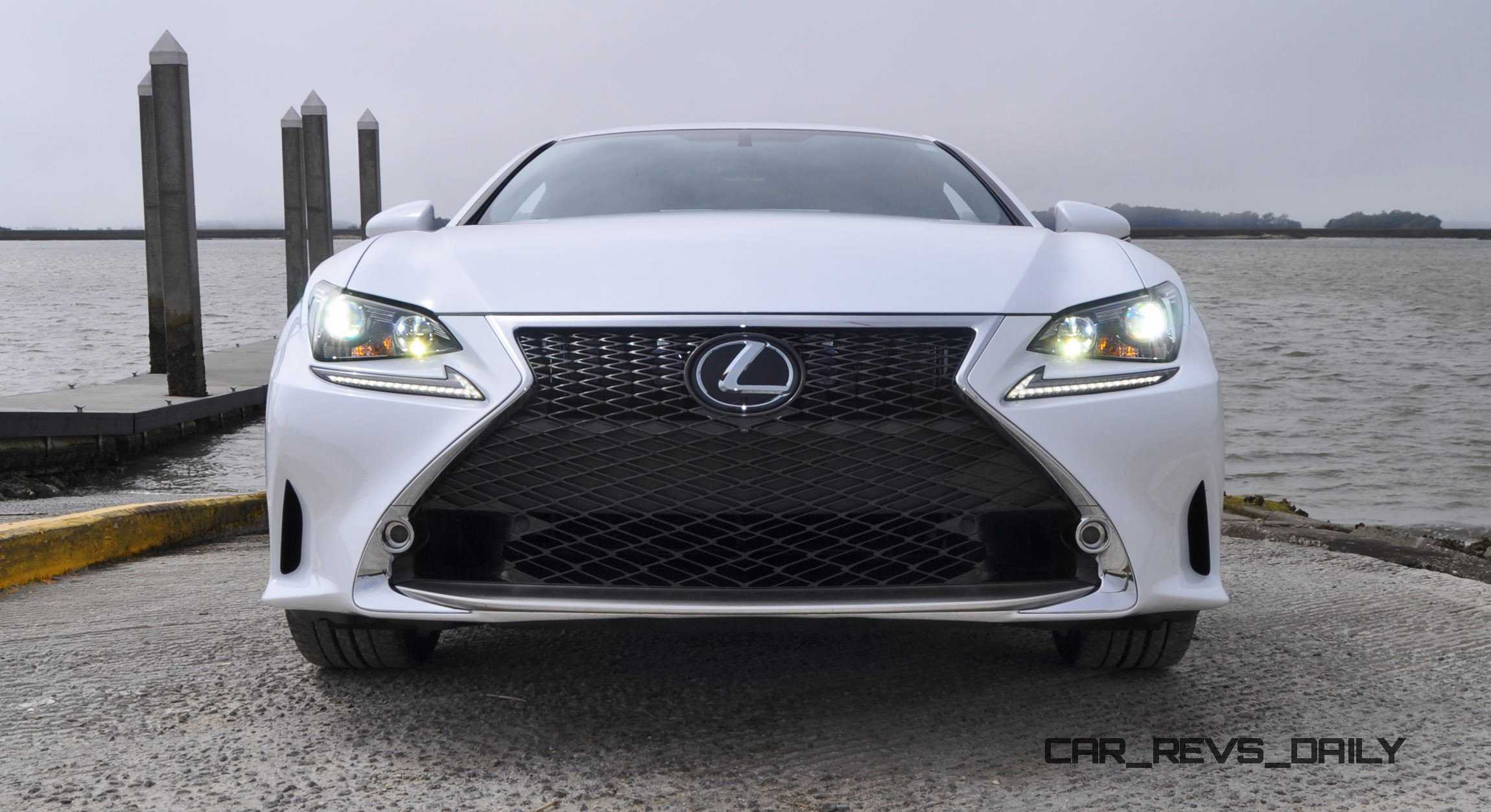 2015 Lexus RC350 F Sport Ultra White 39