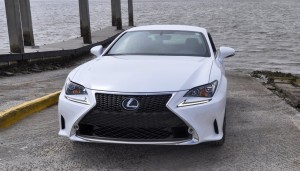 2015 Lexus RC350 F Sport Ultra White 4