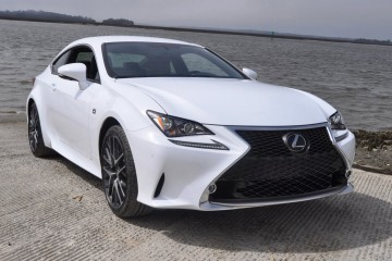 2015 Lexus RC350 F Sport Ultra White 44
