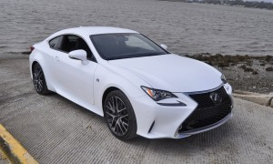 2015 Lexus RC350 F Sport Ultra White 45
