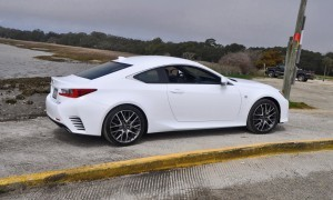 2015 Lexus RC350 F Sport Ultra White 48