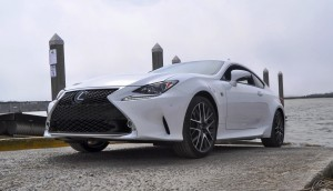 2015 Lexus RC350 F Sport Ultra White 8