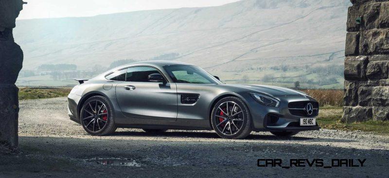 2015 Mercedes-AMG GT-S Grey 3 copy