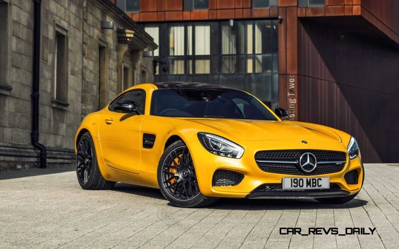 2015 Mercedes-AMG GT S Yellow 11