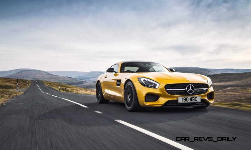 2015 Mercedes-AMG GT S Yellow 13