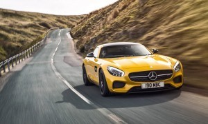 2015 Mercedes-AMG GT S Yellow 14