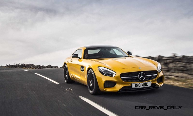 2015 Mercedes-AMG GT S Yellow 15