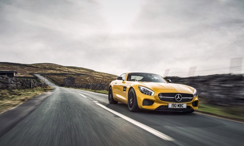 2015 Mercedes-AMG GT S Yellow 17