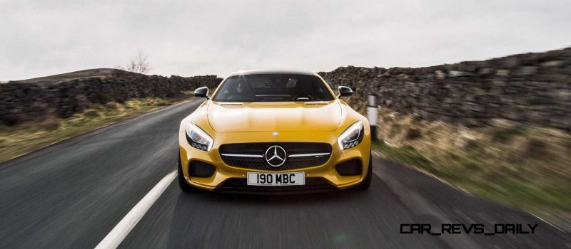 2015 Mercedes-AMG GT S Yellow 19