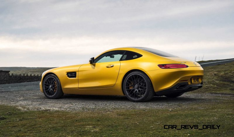 2015 Mercedes-AMG GT S Yellow 2