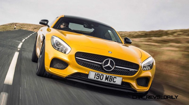 2015 Mercedes-AMG GT S Yellow 20