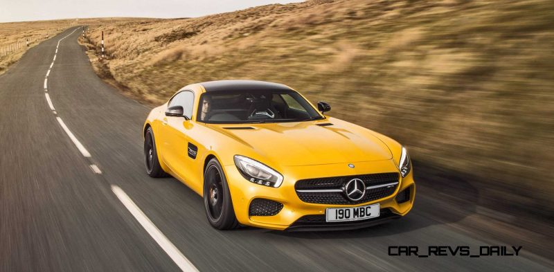 2015 Mercedes-AMG GT S Yellow 21