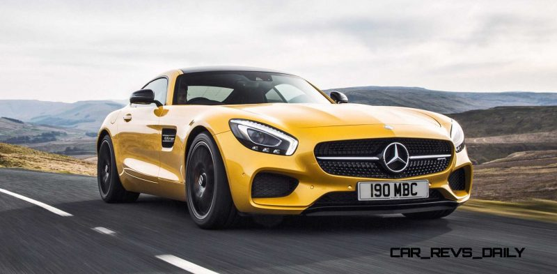 2015 Mercedes-AMG GT S Yellow 22