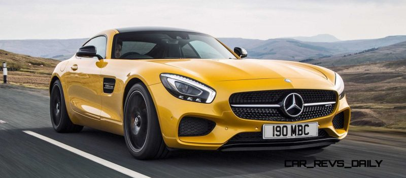 2015 Mercedes-AMG GT S Yellow 24