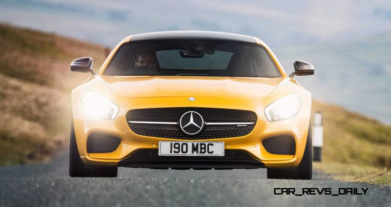 2015 Mercedes-AMG GT S Yellow 28