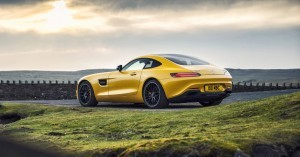2015 Mercedes-AMG GT S Yellow 3