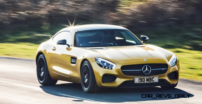 2015 Mercedes-AMG GT S Yellow 32
