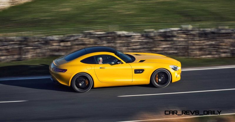 2015 Mercedes-AMG GT S Yellow 33