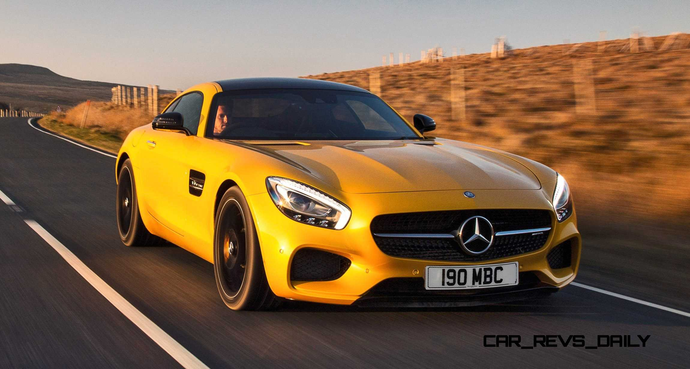 2015 mercedes amg gt s yellow 34. Black Bedroom Furniture Sets. Home Design Ideas